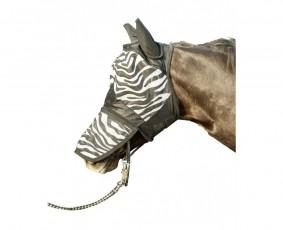 24H Maska przeciw owadom HKM zebra