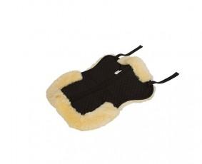 KERBL Podkładka pod siodło z naturanym futrem