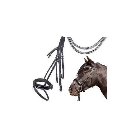 1ea26d00a8ec2 Ogłowie HKM ''Starlight'' - Art-horse Sklep jeździecki